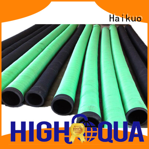Haikuo standard rubber water hoses aging resistance for equipment