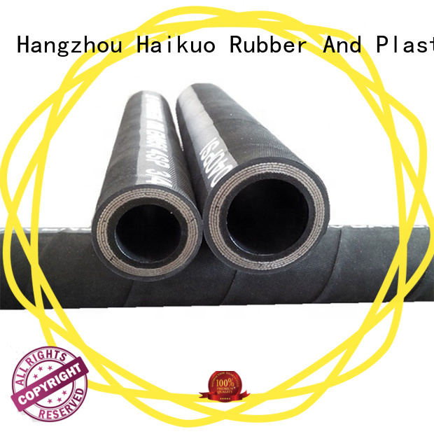 Haikuo safety wire spiral hydraulic hose wholesale for lighting