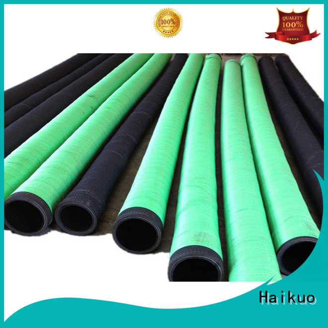 Haikuo first-rate rubber water hoses wear resistance harsh wire jackets