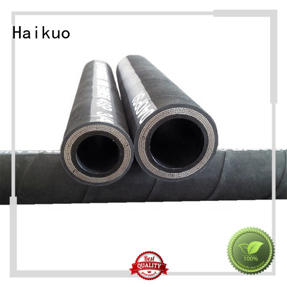 low cost wire spiral hydraulic hose hose from China for audio areas