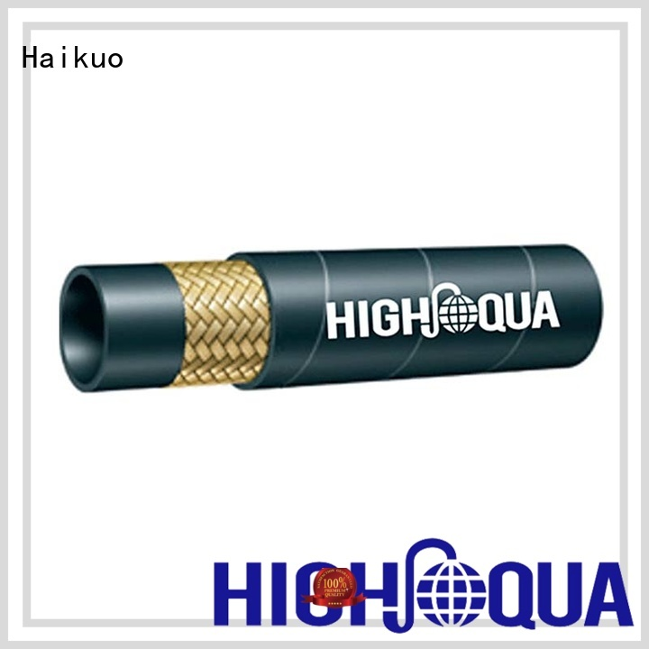 Haikuo standard stainless steel braided hose factory for audio areas