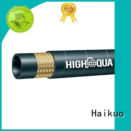 Haikuo wire wire braided hose factory price for audio areas
