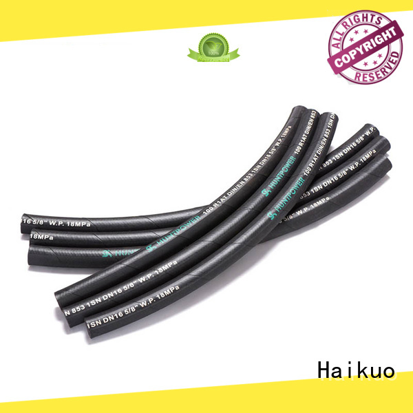 advanced industrial hoses condition package for audio areas