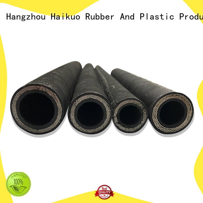 Haikuo 4sp spiral hydraulic hose factory for audio areas
