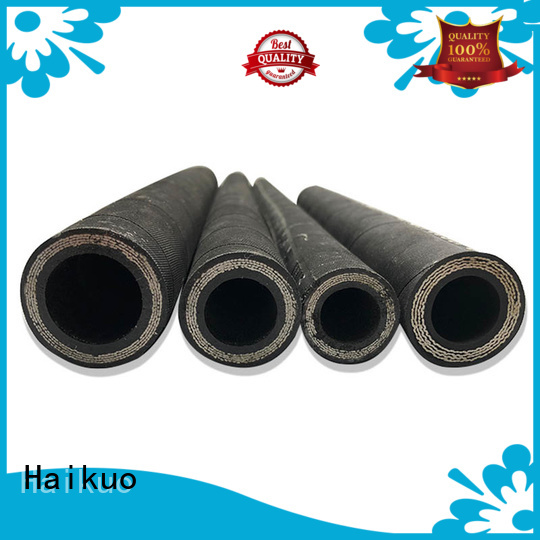Haikuo new-arrival wire braided hydraulic hose manufacturer for electronics