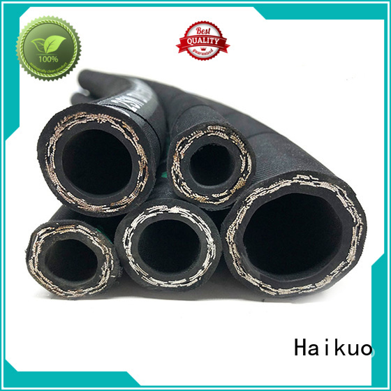 Haikuo durable flexible rubber hose supplier for motorcycles