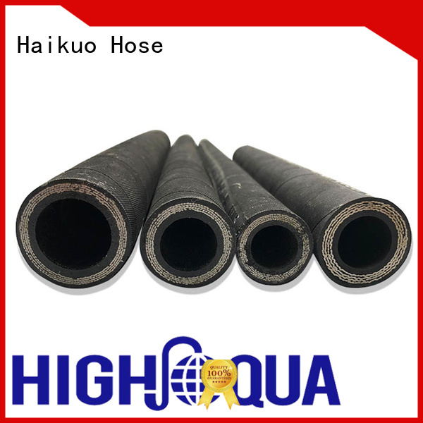 Haikuo spiral 4 wire hydraulic hose manufacturer for audio areas
