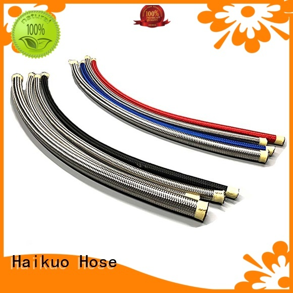 effective ptfe stainless steel braided hoser14directly sale for audio areas