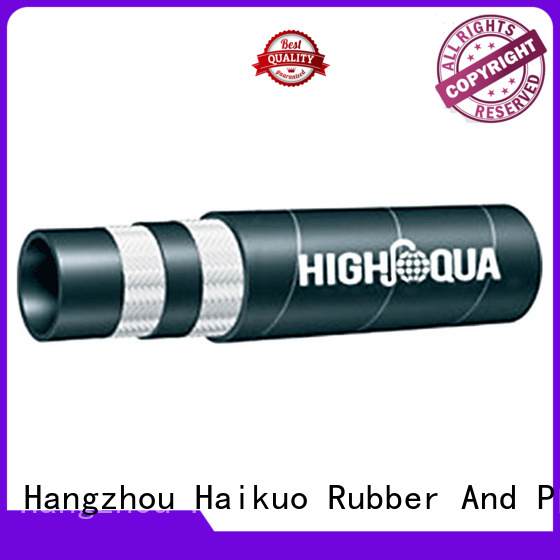 excellent braided hydraulic hose fiber factory price for aviation
