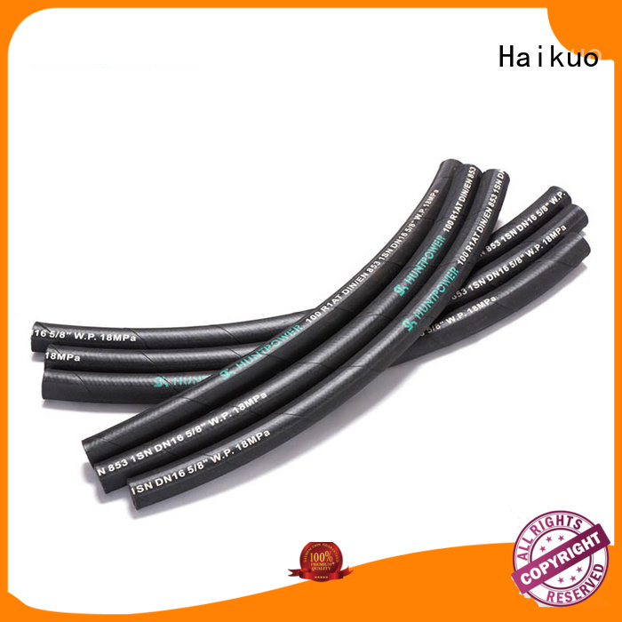 Haikuo stable industrial hoses for-sale for audio areas