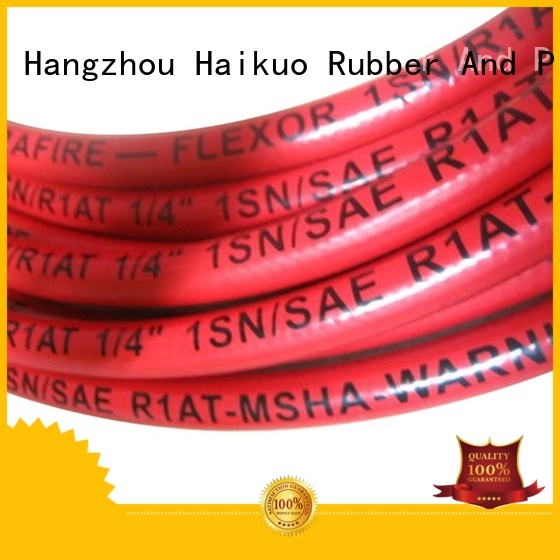 Haikuo braid stainless steel steam hose widely use for aviation