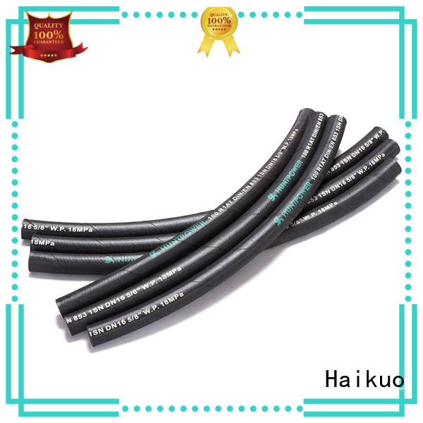 Haikuo gradely machine hose wholesale for audio areas