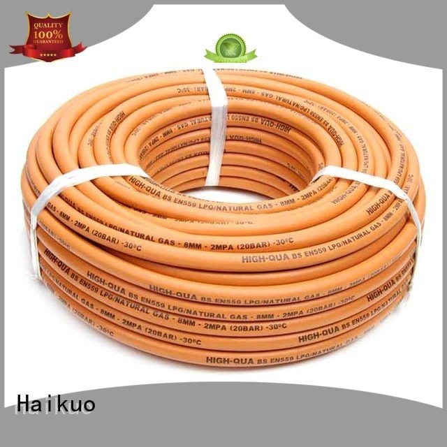 fuel gas hose factory for ships areas Haikuo