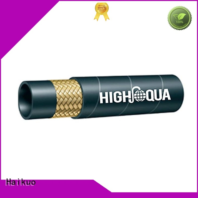 Haikuo 1sn stainless steel flexible hose factory harsh wire jackets