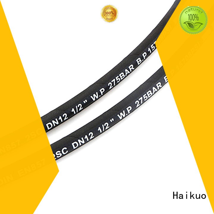 Haikuo braided high pressure flexible hose package for aviation
