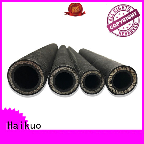wire 4 wire hydraulic hose from China for audio areas Haikuo