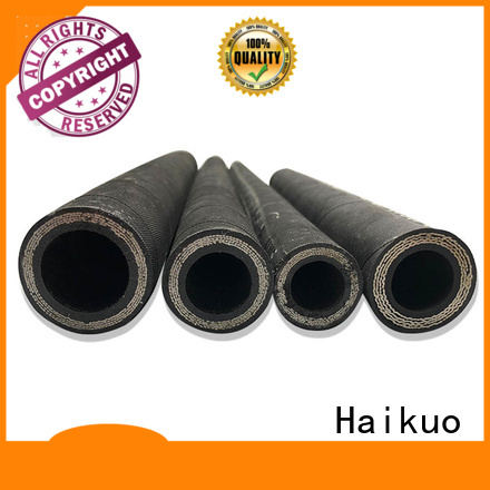 Haikuo wire spiral hydraulic hose factory for lighting