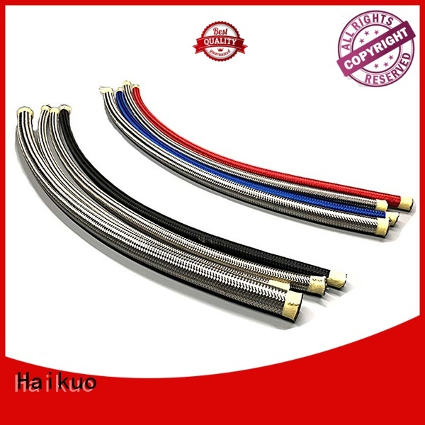 Haikuo sae100 ptfe hydraulic hose from China for audio areas
