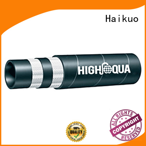 Haikuo excellent braided hydraulic hose from China for aviation