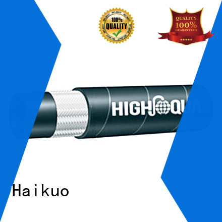 Haikuo effective flexible stainless steel braided hose factory price for ships areas