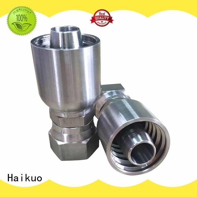 Haikuo durable universal hose and fittings hydraulic for ships areas