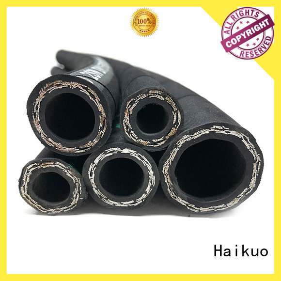Haikuo rubber industrial hoses package for audio areas