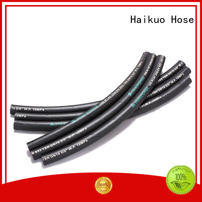 Haikuo steel flexible hose pipe factory price for audio areas
