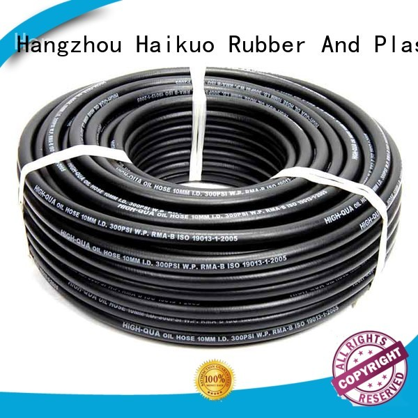 Haikuo reliable industrial hoses manufacturer for automobiles