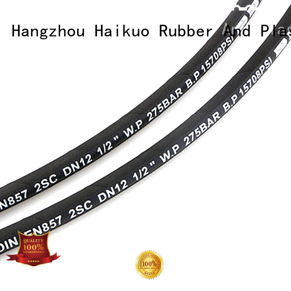 Haikuo excellent flexible braided wire hose for aviation