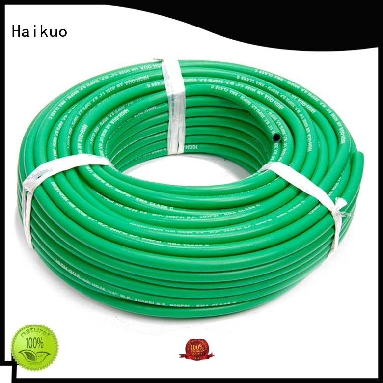 Haikuo stable industrial hoses owner for audio areas