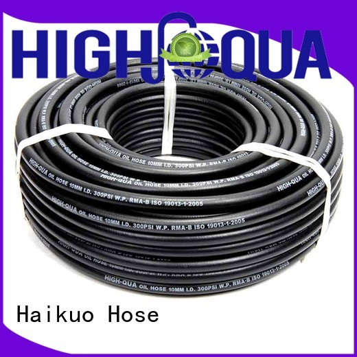 Haikuo braid industrial hoses supplier for insulation